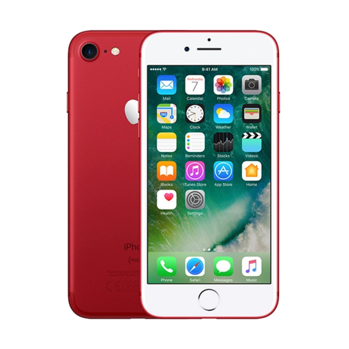 Apple IPhone 7 Red 32GB Unlocked Sim-Free Retina Mobile Phone Refurbished 12 Months Warranty