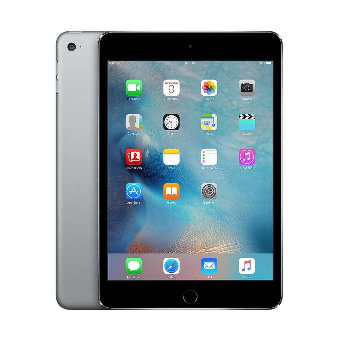 Apple IPad Mini 4 Tablet 128GB 7.9inch HD Wifi Webcam Bluetooth Black Sale
